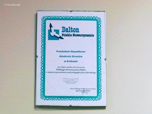 Certyfikat Daltona